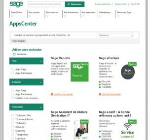 sage apps center