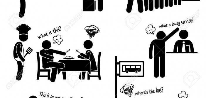 24911381-angry-and-unhappy-customers-complaining-about-bad-services-stick-figure-pictogram-icon-stock-vector